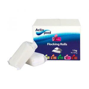 Flocking rolls - flokmiddel til poolen