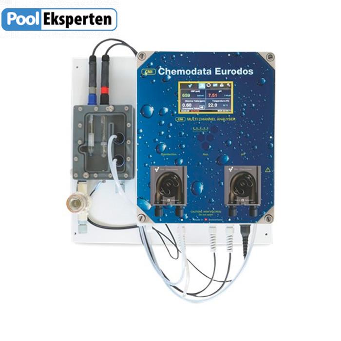 Kemianlæg Eurodos 5 pH/Rx(klor)