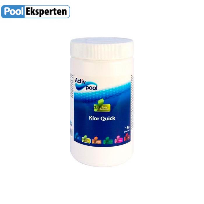 Klor Quick - hurtigtvirkende klor til poolen