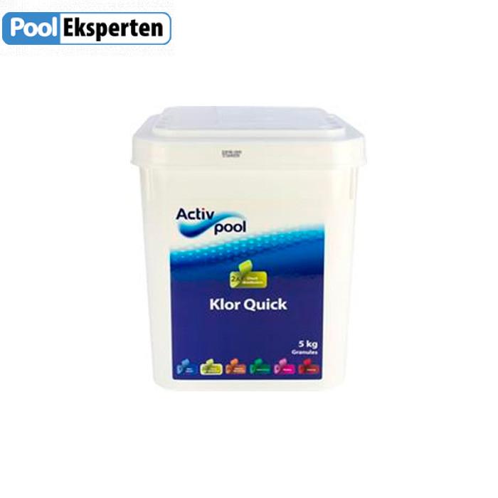 Klor Quick - hurtigtvirkende klor til poolen - 5 kg