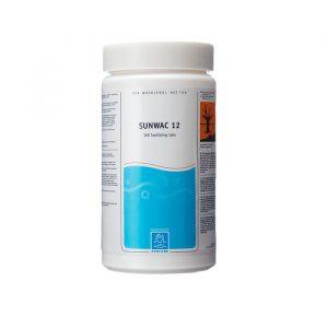 SpaCare Sunwac 12 - klor tabletter til spa og udespa