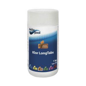 Klor longTabs 200g tabletter, 1kg