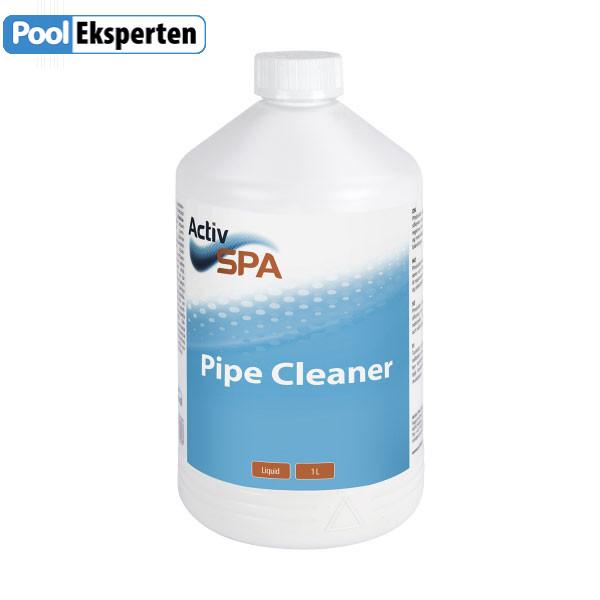 Pipe Cleaner fra Activ SPA renser rørsystemer i spabade