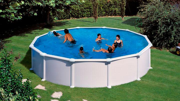 Fritstående pools