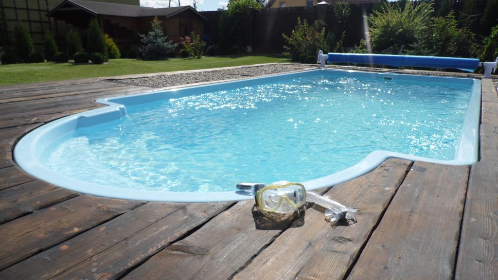 Glasfiber pool