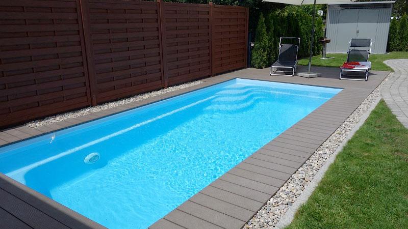 Glasfiber pool er et meget populært valg af pool hos Pool Eksperten