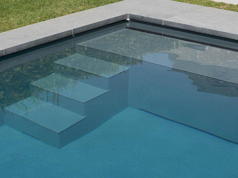Pp pool trappe og bænk