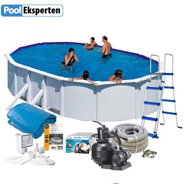 Oval-staal-pool-med-teknik