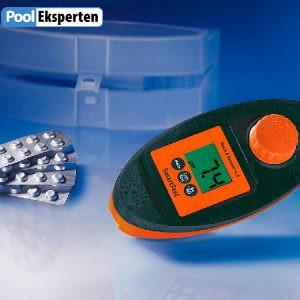 SmartTest photometer bruges til måling af vandindholdsstoffer i forbindelse med vandbehanling af pools