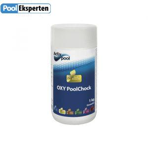 OXY PoolChock er klorfri behandling af poolvand