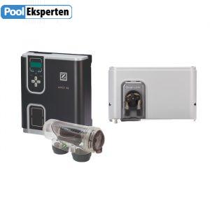eXO iQ + Dual Link giver dig fuldautomatisk pH- og klorstyring!