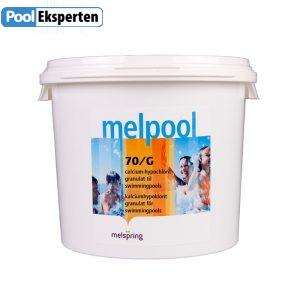 Melpool Calcium Hypochlorit 70% i 5 kg spand