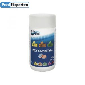 Oxy CombiTabs fra Activ Pool er en 3i1 tabs uden klor.