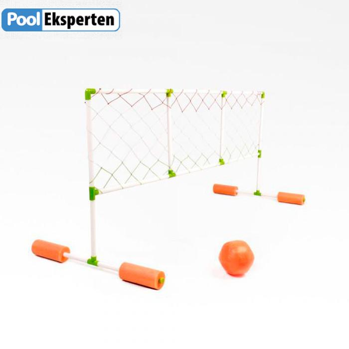 Volleyball net til brug i swimming pool