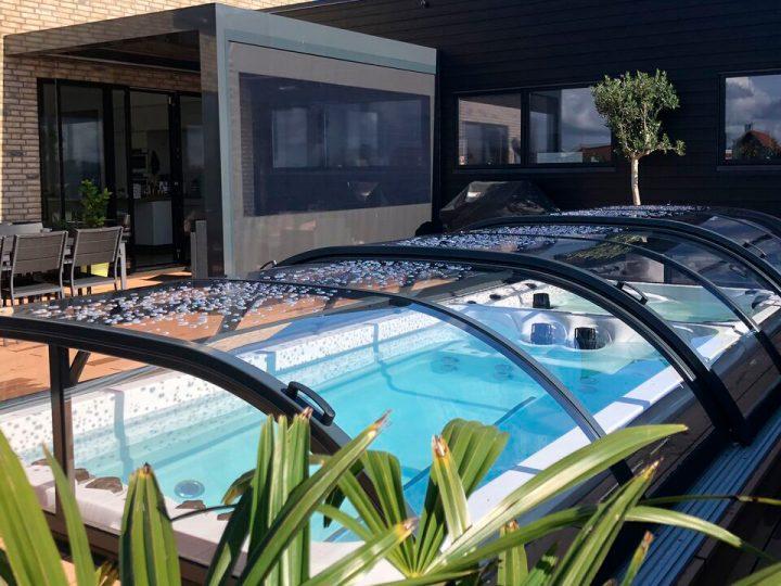 Projekt: Swimspa med Nova Comfort overdækning – 2018