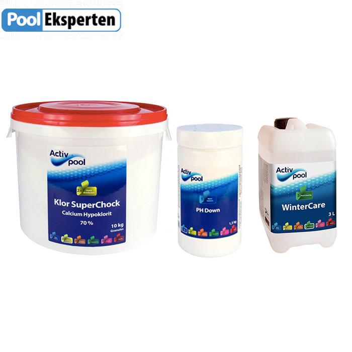 Vinterpakke - kemi til vintersæsonen for pools