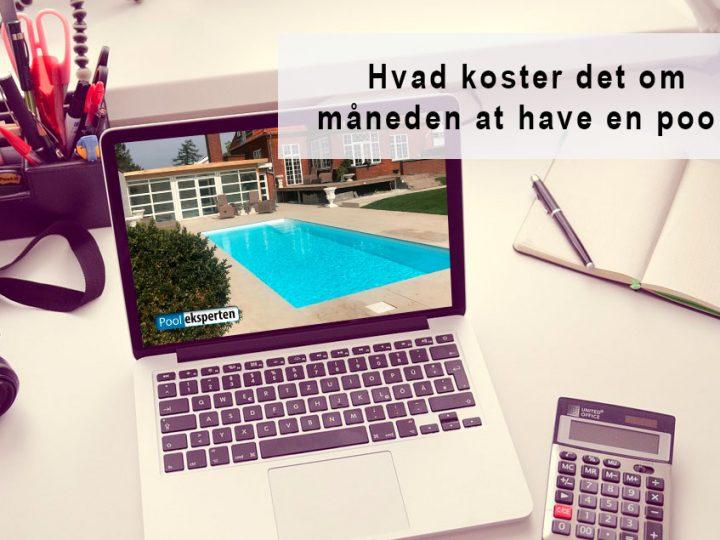 Nyttig viden: Hvad koster det at have en pool?