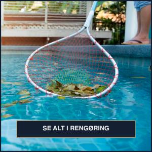 Rengøring af pools