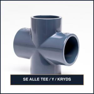 Tee / Y / Kryds