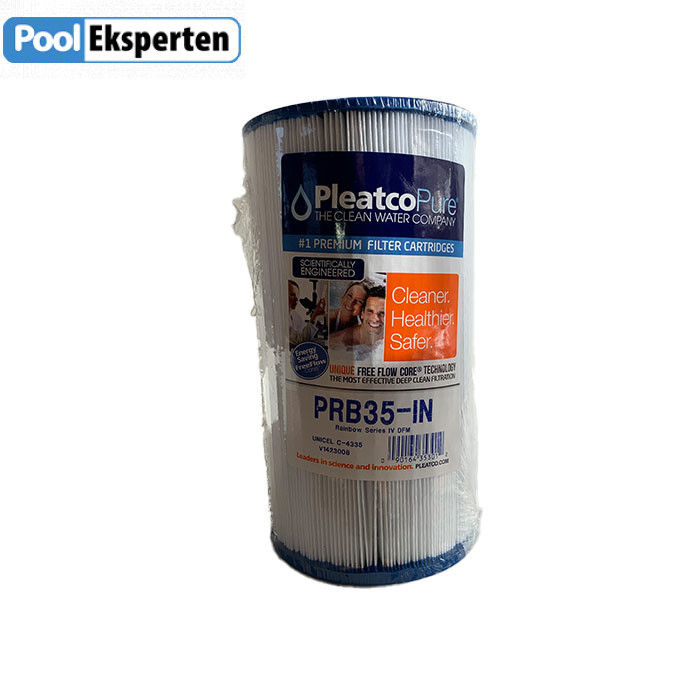 Spafilter Pleatco PRB35-IN er et kvalitets patronfilter til udespa