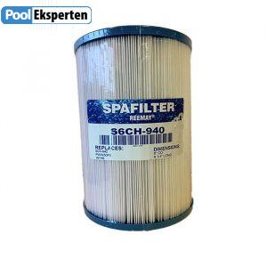 Spafilter S6CH-940 er et kvalitets filter, som passer til de fleste udespa fra Passion Spa