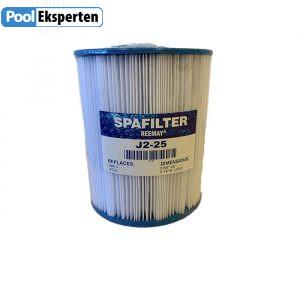 Spafilter SJ2-25 er en spafilterpatron som passer til flere udespa fra bl.a. Passion Spa