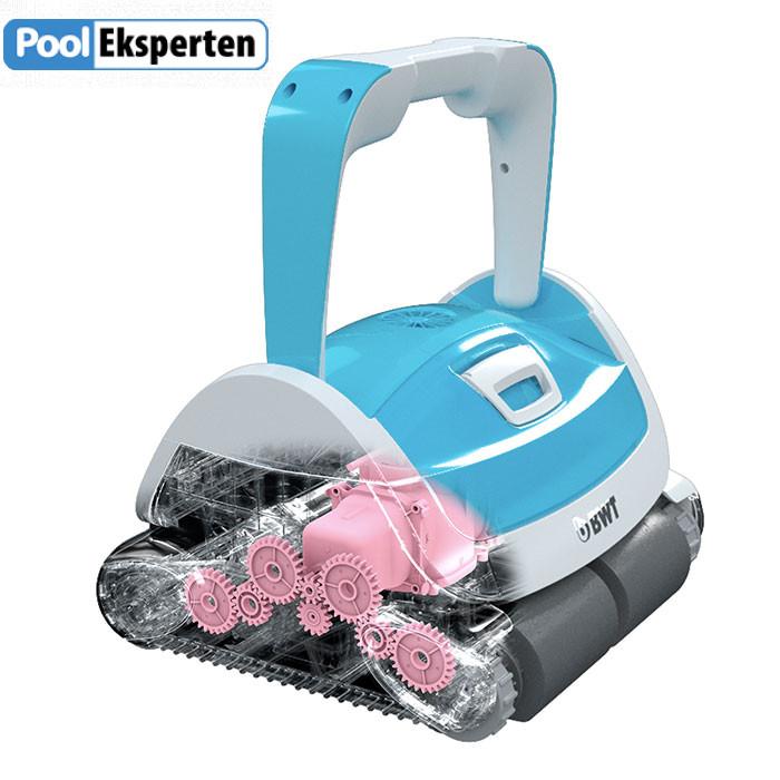 Pool robot teknik illustration