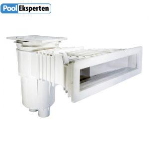 Skimmer Astralpool NORM 17,5L giver et højtvandspejl i swimmingpoolen